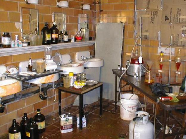 methamphetamine and meth labs